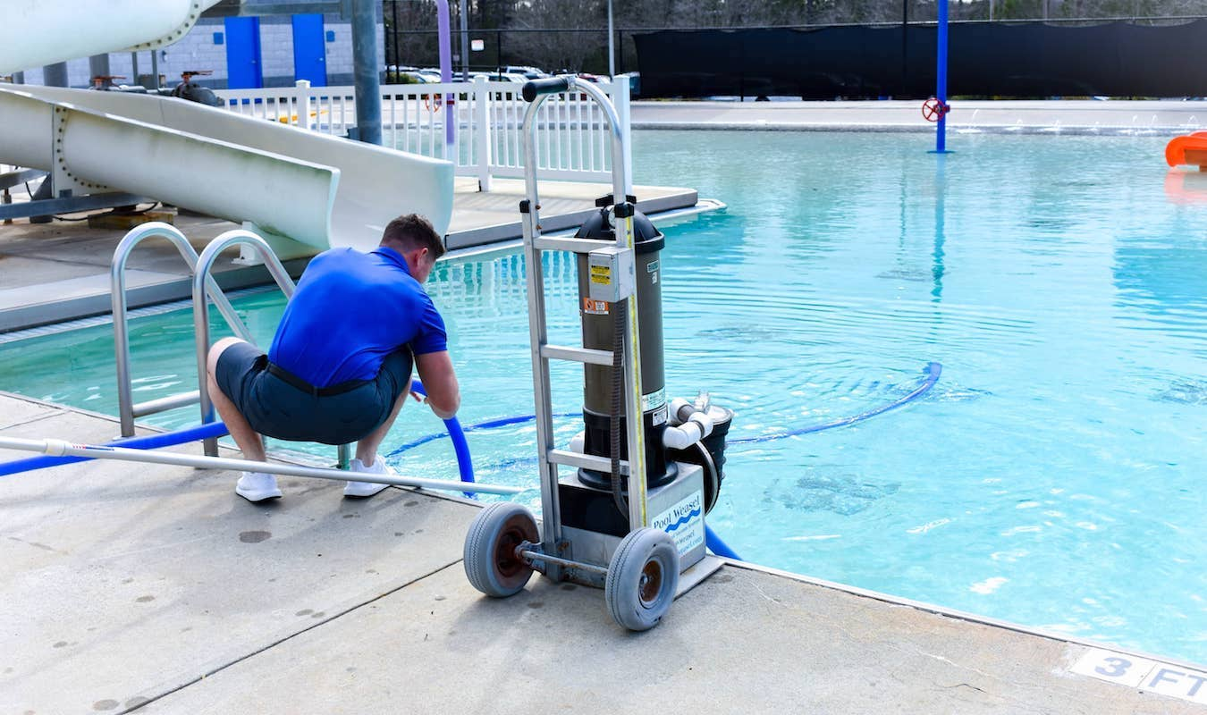 Pool Maintenance - Swim Club Management Group